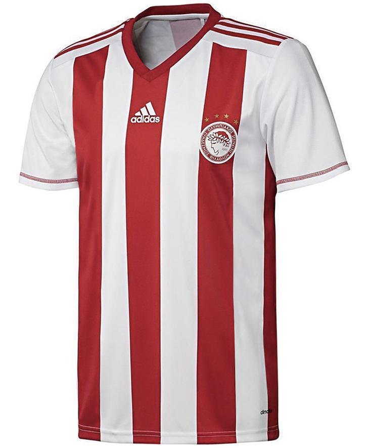 adidas Olympiakos Piraeus Fanshirt Herren Heimtrikot Home Jersey S89364 Fanshop International Sonstige 2019 06 19 13 45 51