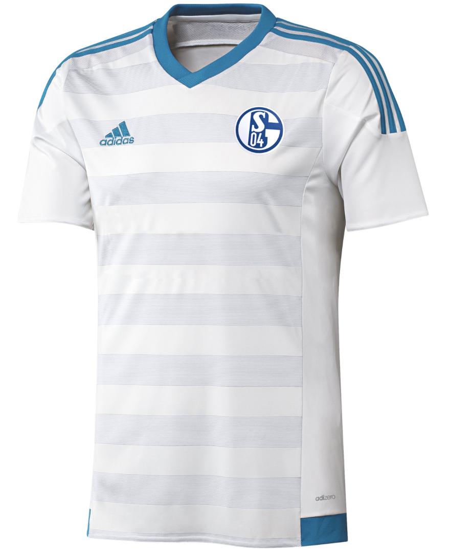 adidas S04 Schalke 04 Spieler Auswaertstrikot Away Jersey P S12373 Fanshop National Schalke 04 2019 06 19 13 43 41