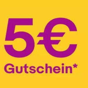 Ebay: 🤑 5€ Gutschein ohne MBW - viele Freebies möglich!