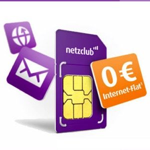 Gratis 🎁 500MB LTE Internet dauerhaft kostenlos bei netzclub (o2)