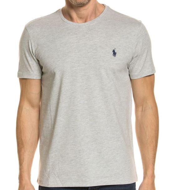 2019 07 23 16 49 39 Polo Ralph Lauren T Shirt Rundhals New Grey Heather