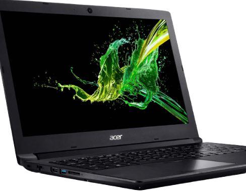 ACER Aspire 3 A315 41G R1A5 Notebook mit 15.6 Zoll Display Ryzen 7 Prozessor 8 GB RAM 256 GB SSD Radeon 530 Schwarz
