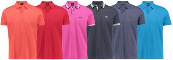 BOSS Herren Poloshirt Piro Paddy Regular Fit Kurzarm NEU