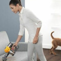 Dyson V6 Top Dog Staubsauger ideal fuer Tierhaare