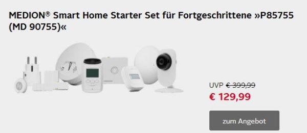 MEDION Smart Home Starter Set fuer Fortgeschrittene P85755 MD 90755
