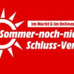 ☀💲 MediaMarkt: Sommer-noch-nicht-Schluss-Verkauf