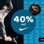 Tipp: 40% Rabatt auf alles von NIKE, z.B. Hoodies, Sneaker usw.