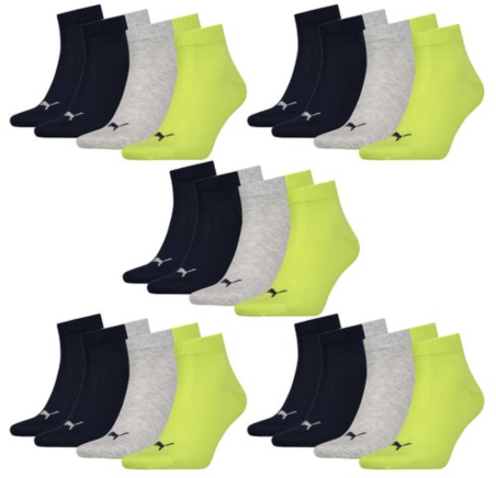 PUMA Unisex Quarter Socken 15er Pack 2019 07 04 15 10 02