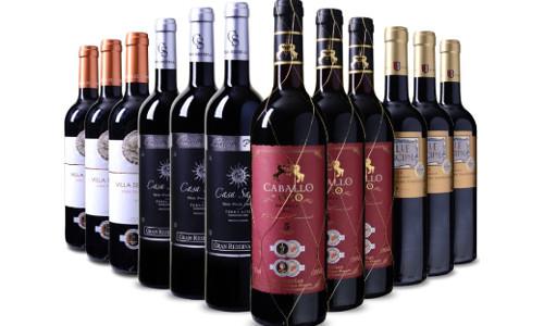 Probierpaket 12 spanische Rotweine praemiert 1