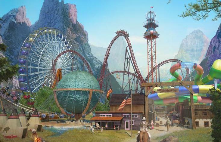 Slagharen Freizeitpark 🎢 mit Eintritt + 2x Familien-ÜN ab 65€ pro Erwachsenem