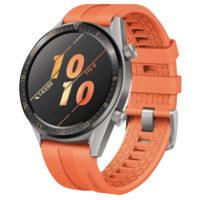 Smartwatch HUAWEI Watch GT Active Smartwatch Metall Fluorelastomer 140 210 mm Orange  MediaMarkt 2020 03 12 20 08