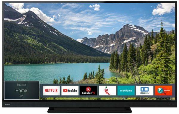 Toshiba 55T6863DA 55 Zoll 4K Ultra HD LED Fernseher HDR Smart TV WLAN