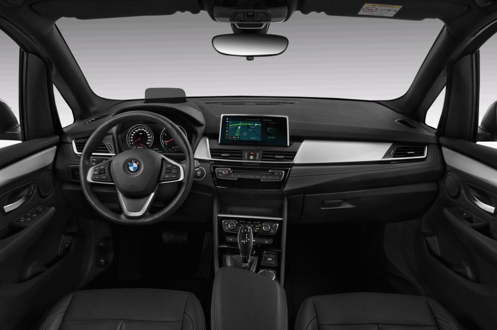 2018 bmw 2 series active tourer luxury minivan dashboard