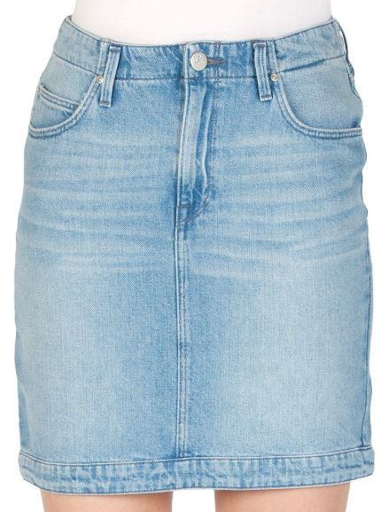 2019 08 26 16 07 09 Lee Damen Jeansrock Mom Skirt Blau Buzz Hype kaufen JEANS DIRECT.DE