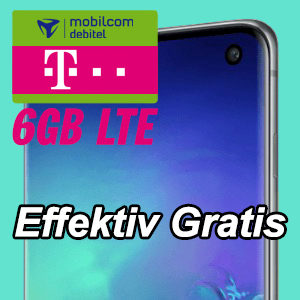 Übersicht 🔥 📴 Allnet-Flat mit 6GB LTE + Huawei P30 Pro / Galaxy S10e / etc.