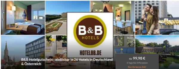B and B Hotels Hotel Gutschein 1