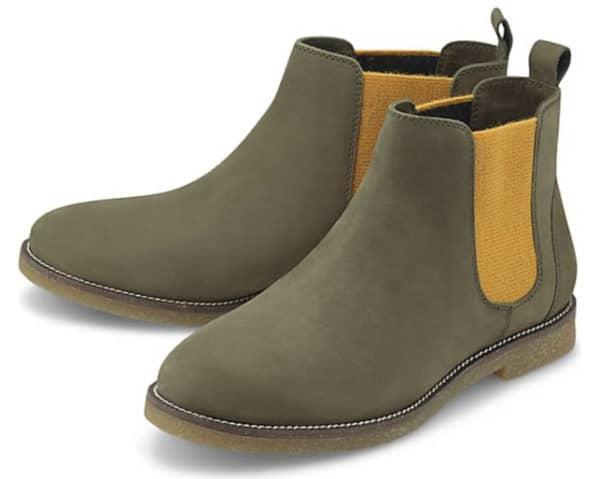COX Chelsea Boots khaki  GOERTZ   31984002 2021 01 14 15 11