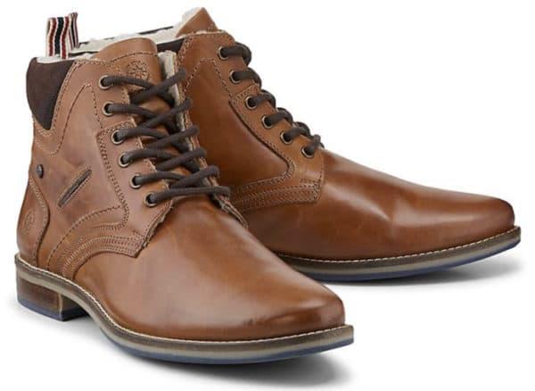 COX Schnuer Boots mittelbraun  GOERTZ   46801302 2021 01 14 15 13