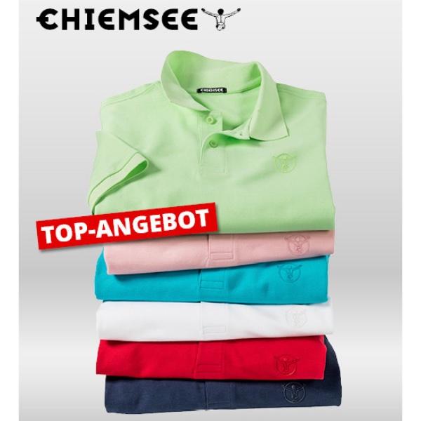 👕 Chiemsee Baumwoll-Poloshirt (100% Baumwolle, in 6 Farben)