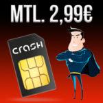 D2 Klarmobil Tarif mit 100 Min + 1GB LTE für nur 2,99€ mtl.