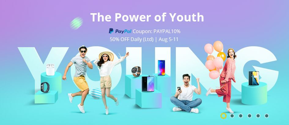 Gearbest Power of Youth Sale
