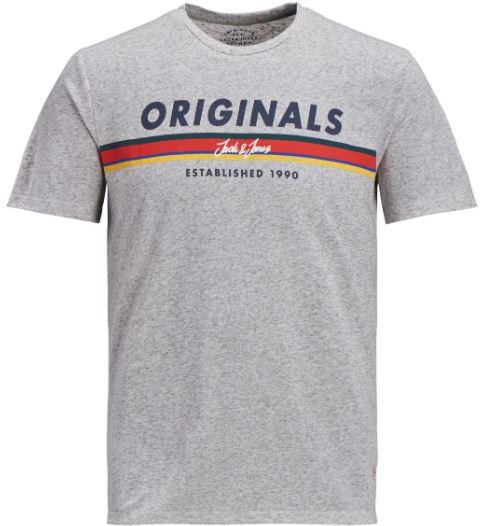 Jack Jones Herren T Shirt JORTUCO TEE SS CREW NECK Regular Fit