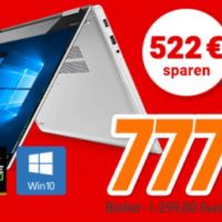 Lenovo Yoga 720 156 Convertible mit IPS Touch Display Core i5 SSD
