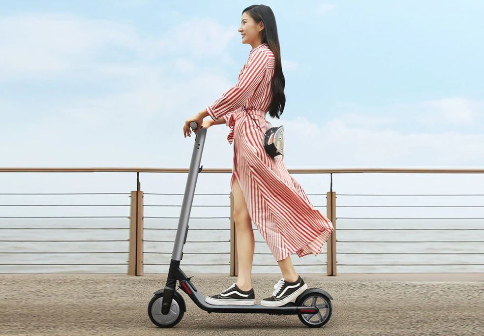 Ninebot Segway ES2 Folding Electric Scooter from Xiaomi mijia Black