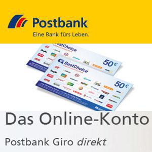 [TOP] 100€ Prämie für die Eröffnung des Postbank Giro direkt Kontos