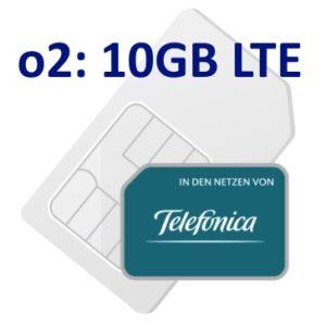 o2 💥 Allnet-Flat + 10GB LTE für 15€ mtl. bzw. 20GB LTE für 20€ (ohne Laufzeit)