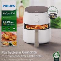 philips hd9750 20 airfryer xxl heissluftfritteuse weiss
