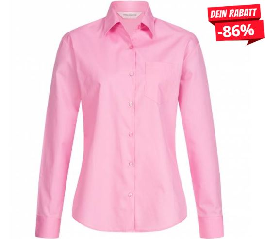 2019 09 02 17 25 07 RUSSELL Longsleeve Pure Cotton Poplin Damen Hemd 0R936F0 Bright Pink   SportSpar