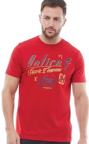 2019 09 04 12 44 48 Onfire Herren Druck T Shirt Rot