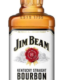 3x Jim Beam Bourbon Whiskey 1l