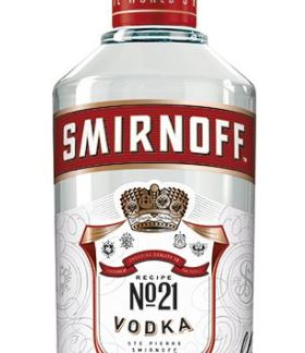 3x Smirnoff Red Vodka