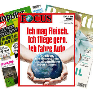 Kostenlose Mini-Abos, z.B. Auto Motor Sport, Spiegel, Focus, Auto Bild, etc.