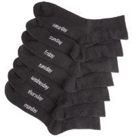 DAILYSOXX Unisex Short Crew Socken Everyday mit Frotteesohle 14er Pack 2019 09 24 10 02 13