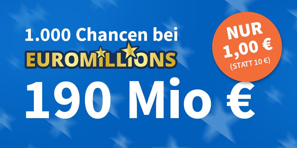 EuroMillions 1000 Chancen