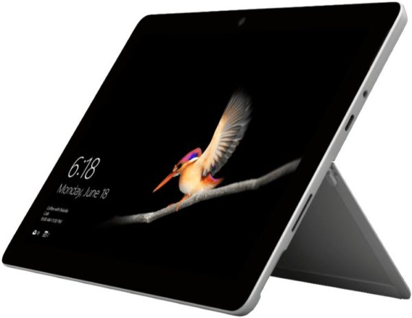 MICROSOFT Surface Go LTE Tablet mit 10 Zoll Display Pentium Gold Prozessor 8 GB RAM 128 GB SSD Intel HD Grafik 615