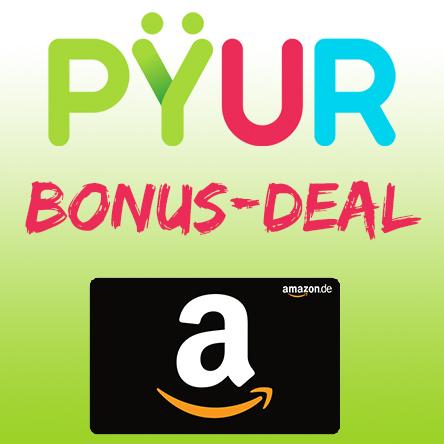 PYUR Bonus Deal Titelbild