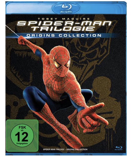 Spider Man 1 3 Trilogie 3 BRs von Sam Raimi Blu ray Thalia 2019 09 26 14 31 54
