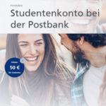 50€ Prämie 🤑 für das Postbank Girokonto (nur Studenten, Azubis & FSJ-ler)