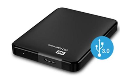 WD Elements Portable USB3.0 4TB 2.5zoll Black