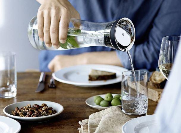 WMF Wasserkaraffe mit 2 Glaesern