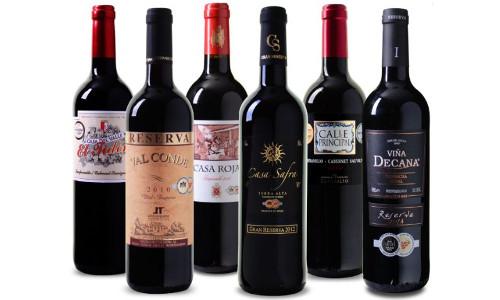 Wein Probierpaket Bestseller aus Spanien