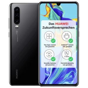 Eff. 0,20€ mtl. 📴 Huawei P30 + Allnet-Flat mit 6GB LTE (Telekom-Netz)