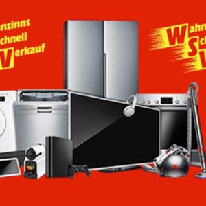 MediaMarkt WSV: Wahnsinns Schnellverkauf Aktion mit über 8.000 Produkten