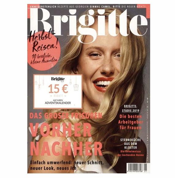 Brigitte Abo beim LESERSERVICE 2019 10 02 16 26 52