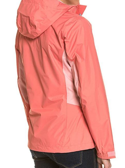 Columbia Funktions Jacke Kapuze taillierter Schnitt coral bloom rosewater