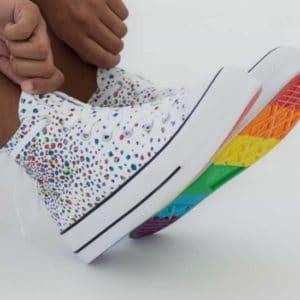 Converse Sneaker bunt